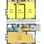 ■3LDK+小屋裏+車庫3台