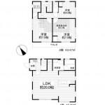 ■3LDK+WIC+小屋裏収納5.5帖+車庫