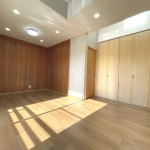 ■大型収納付きの洋室は寝室に最適!