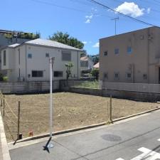 [売買]武蔵野市桜堤2丁目  建築条件なし売地 更地北西角地