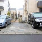 ■駐車スペース・駐輪スペース付きの敷地です♪