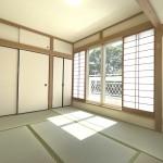 ■大型押入付きの明るい和室♪