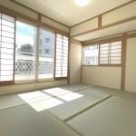 ■大型収納付きの明るい和室♪