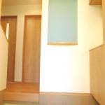 ■ニッチ付玄関♪
