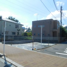 [売買]武蔵野市桜堤2丁目 建築条件なし売地 更地 北西角地