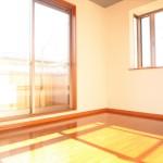 ■陽当たり・通風良好、開放的な洋室です!